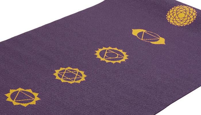 Chakra Yoga Mat Sticky Mat With 7 Chakras Yoga Bloke