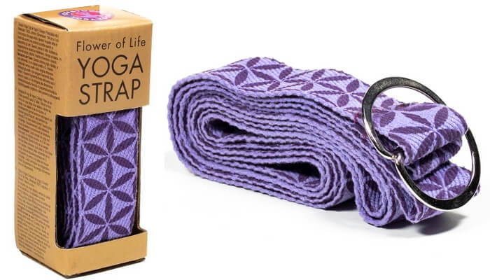 Flower of Life Yoga Strap Belt