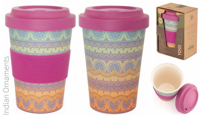 Reusable Bamboo Eco Friendly Cup