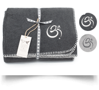 Om Fleece Blanket