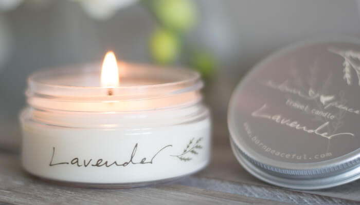 Travel Candle | Lavender | Born Peaceful #5