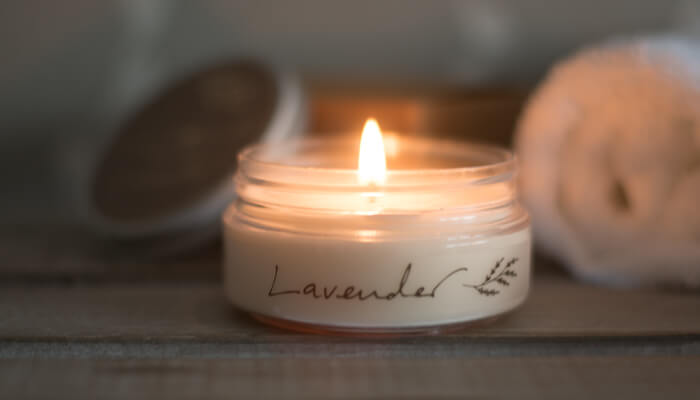 Travel Candle | Lavender | Born Peaceful #6