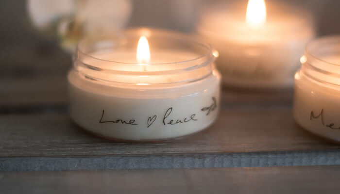 Travel Candle | Love and Peace | Born Peaceful #2