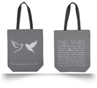 Born Peaceful Hygge Tote Bag