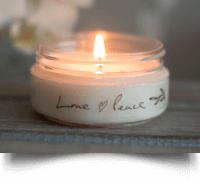 Travel Candle | Love and Peace | Born Peaceful