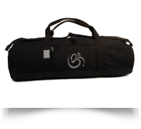 Born Peaceful Om Yoga Mat Bag Hold All
