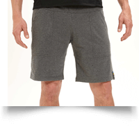 Choclo Yoga Shorts for Men in Grey