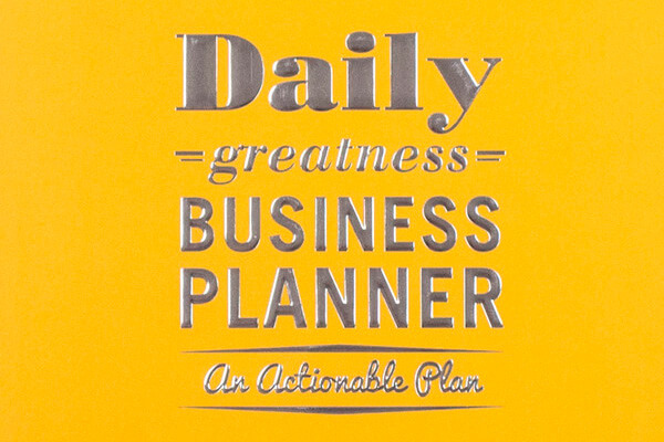 Daily Greatness Business Planner #2