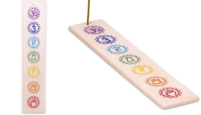 Sandstone Chakra Incense Holder