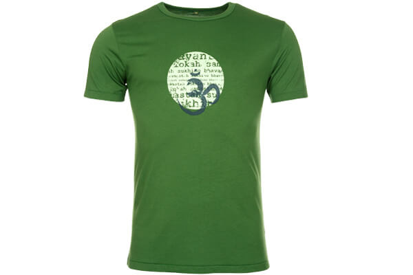 Bamboo Lokah T Shirt in Green #2