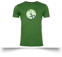 Bamboo Lokah T Shirt in Green