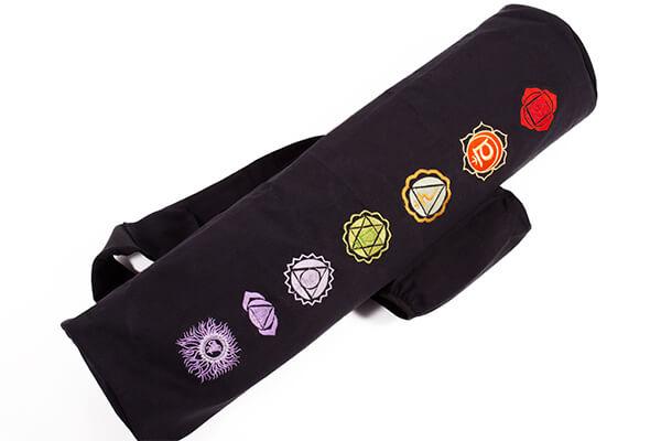 Yoga Mat Bag 7 Chakra Design By Yogamasti Yoga Bloke